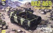 UAZ-469 North alliance Afganistan