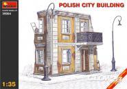 Polnisches Stadthaus Ruine Halbrelief