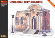 Stadthaus Ukraine Ruine Halbrelief