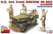 US 4x4 Bantam 40 BRC mit Crew