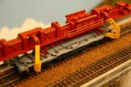 Gleis- und Weichenverlegekran UK 25/28 SP, Bausatz