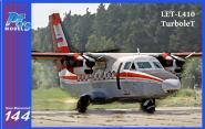 Let L-410 Turbolet Aeroflot red/blue VVS