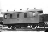 Satz: 2-Achsige Personenwagen, 3 Stück mit unterschiedlichen Nummern