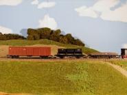 Satz: gedeckte Güterwagen
