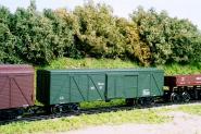 Gedecketer Güterwagen, Industrie