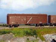 Gedecketer Güterwagen, modernisiert, Getreidetransport
