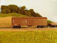 Gedecketer Güterwagen, modernisiert, Metalltür