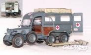 Deutscher Krankenwagen Kfz.31 Steyr 640