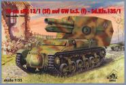 15cm sFH 13/1(Sf) auf GW Lr.S(f) - Sd.Kfz.135/1