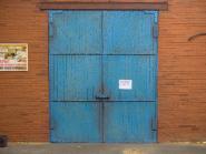 Soviet garage doors