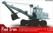 Soviet wheel excavator E-302B