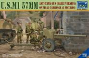 1/35 US M1 57mm AT Gun Early on M1A3 Carriage