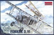 Fokker D.VI World War 1