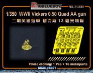 Vickers 0.50 Quad AA gun
