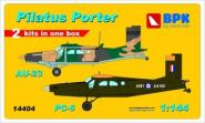 Pilatus Porter PC-6 & Au-23 (2 sets in the box)