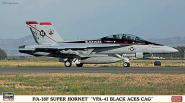 Boeing F/A-18F Super Hornet VFA-41 Black Aces CAG