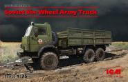 Soviet Six-Wheel KAMAZ Army Truck