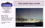 Visby stealth corvette
