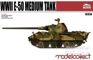 Germany WWII E-50 Medium Tank with 88mm Gun