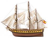Spanische Fregatte Nuestra Señora de las Mercedes, 1/85