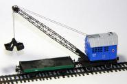 Steam crane PK-6, blue