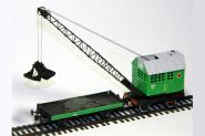 Steam crane PK-6, green