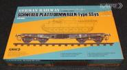 German Railway Schwerer Plattformwagen Type SSys