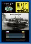 Dampfschiff George Borman 1:100 Paper kit