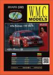 Alfa Romeo 155 V6 Ti 1:25 Paper kit
