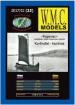 Kurenas - Fischerboot vom Kurischen Haff 1:50 Paper kit